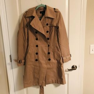 Water Resistant VS Camel Trench Coat
